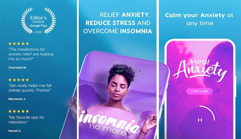 تحميل Zen : Relax, Meditate & Sleep مهكر للاندرويد [اخر اصدار]