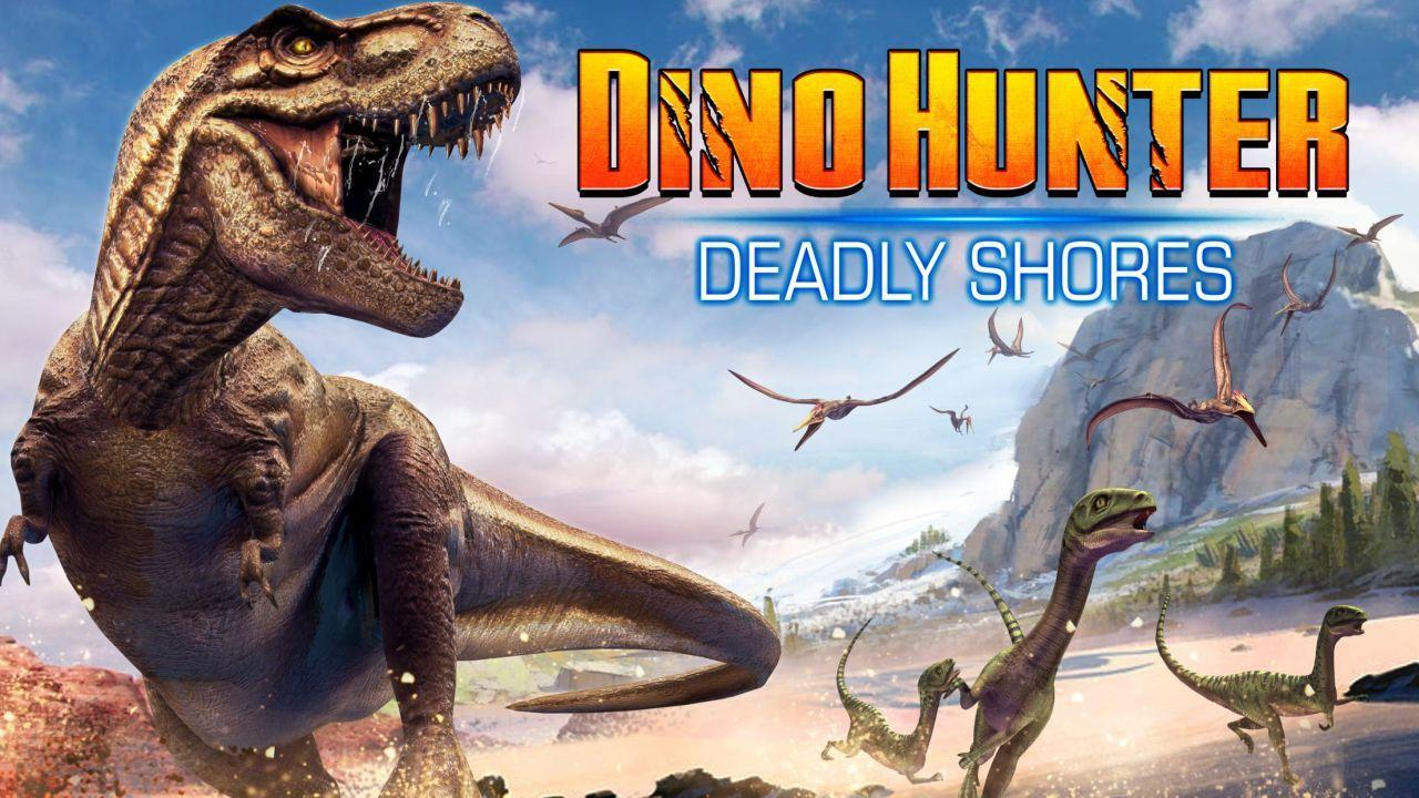 تحميل لعبة ديناصور هانتر Dino Hunter 2021 مهكرة [اخر اصدار] للاندرويد