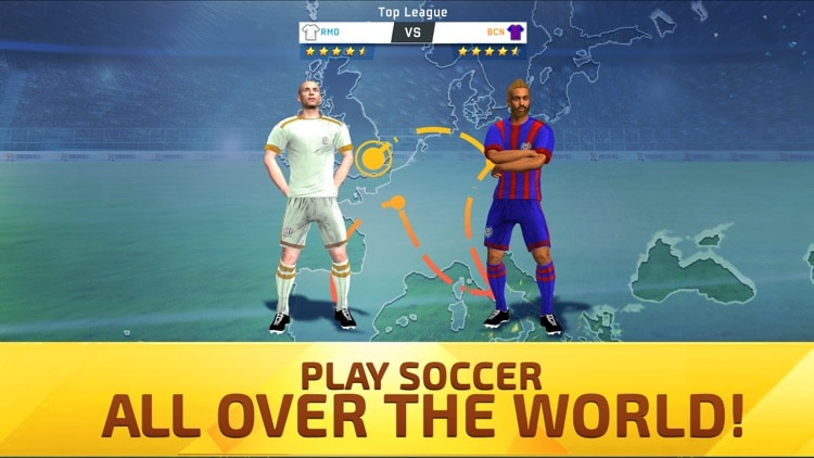 تحميل لعبة لعبة soccer star 2021 top leagues مهكرة للاندرويد اخر اصدار