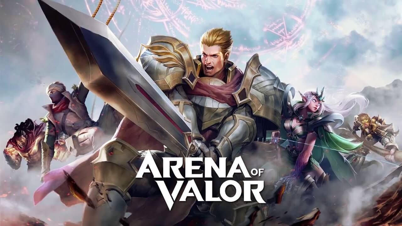 تحميل لعبة Arena of Valor 5v5 Arena Game [مهكرة] 2021 اخر إصدار للاندرويد