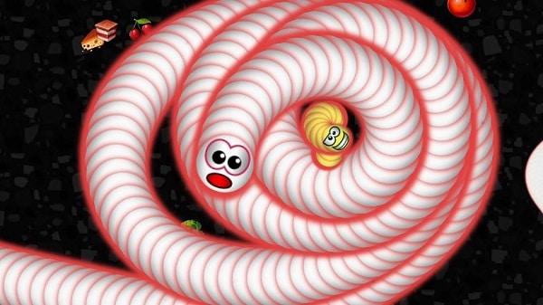 تحميل لعبة Worms Zone مهكرة من ميديا فاير اخر اصدار