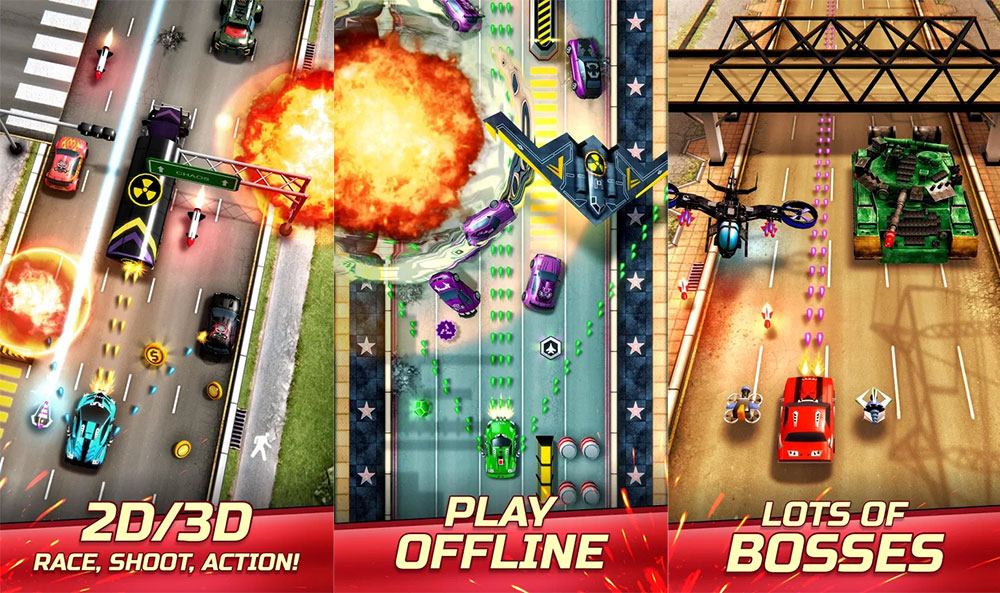 تحميل لعبة Chaos Road مهكرة من ميديا فاير
